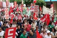 Las jornadas perdidas por huelga en 2012 alcanzaron en Andalucía las 48.567, casi el doble que el año anterior