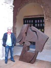 El escultor José Luis Terraza dona una obra a la Fundación Medinaceli Dearte