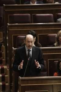 Rubalcaba dice que el PSOE rechazará que el nuevo sistema de financiación autonómica