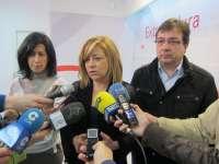 Elena Valenciano muestra su rechazo a la