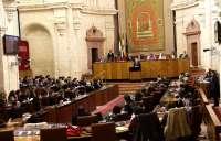 El debate de la comparecencia de Griñán sobre los ERE se prolonga más de horas superando los turnos programados