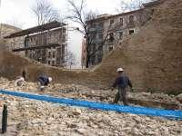 Ayuntamiento propondrá plan de actuación para recuperar toda la muralla, en la que se interviene desde 1986