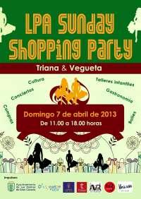 Las Palmas de Gran Canaria celebra este domingo la segunda jornada del LPA Sunday Shopping Party