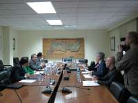Las obras de ordenación del Guadiana en Badajoz podrían verse retrasadas por la obra del río