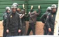 El juez sobresee la causa contra 13 manifestantes del 14N y lleva a juicio a otros 9 por faltas