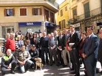 Los municipios del Consejo de Coordinación Policial del Sureste de Mallorca conocen el perro antidroga de Campos