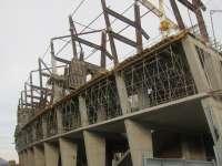 La colocación de la cubierta de San Mamés Barria cortará el tráfico del sábado al lunes en las cercanías del estadio