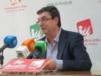 IU critica el recurso del fiscal porque el