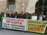 El pleno ratifica el acuerdo de Educación y sindicatos para regular las bolsas de docentes interinos