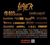 Slayer, Bad Religion y medio centenar de bandas más forman el cartel de la octava edición del festival Resurrection Fest