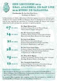Seis obras maestras del Museo de Zaragoza protagonizan un ciclo de conferencias
