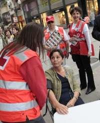 Cruz Roja organiza este domingo en Cascante la Feria de la Salud, con productos saludables y controles de tensión