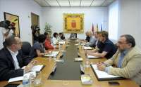 Mesa y Junta verán este lunes el escrito de Sanz para no comparecer en el Parlamento para informar sobre Caja Navarra