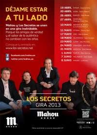 Los Secretos emprenden esta primavera una gira por salas que llegará a Pamplona el 27 de abril