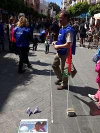 El 'kilómetro solidario' para las vacaciones de los niños saharauis recauda más de 1.200 euros en seis horas