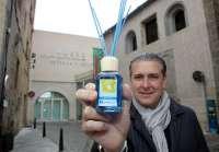 Andrés Ortega, de Ambientair, reconocido con el Premio 'Unas alas para volar' de los empresarios de Hontoria (Segovia)
