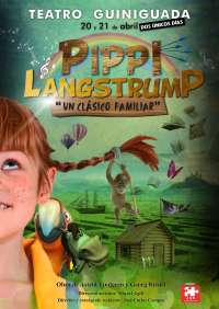 El Teatro Guiniguada de Las Palmas de Gran canaria ofrecerá dos nuevas funciones de la producción 'Pippi Langstrump'