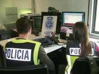 La Policía Nacional detiene en Cartagena a un individuo implicado en una trama de pederastia internacional