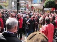 Los sindicatos acudirán al TSJA tras concluir sin acuerdo el acto de conciliación sobre las pensiones de la minería