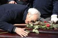 Familiares, amigos y admiradores dan el último adiós a la actriz en el cementerio de San Justo de Madrid