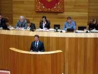 Feijóo revela que la legislatura del bipartito fue en la que