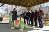 La Diputación de Soria invierte 141.000 euros en el Parque Cretácico de Aventuras de San Pedro Manrique