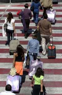 Los aeropuertos andaluces registran 3,1 millones de pasajeros en los tres primeros meses del año, un 8,9% menos