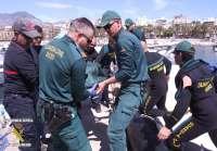 Localizado el cuerpo sin vida de un hombre desaparecido en la costa de Benidorm hace seis días