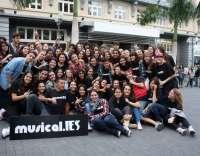 Casi 200 estudiantes participan en la tercera edición de Musical.IES en el Auditorio de Tenerife