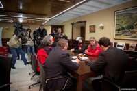 Manzano retirará el escrito presentado en la Policía tras la entrada de miembros de la plataforma en la Asamblea