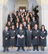 41 nuevos jueces juran o prometen su cargo en el TSJA para incorporarse a los juzgados de Andalucía