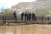 La Diputación de Segovia arreglará caminos rurales de Montejo de la Vega afectados por las inundaciones
