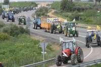 Tractores y cosechadoras vuelven a salir convocados por UPA y COAG en contra de una PAC que ataca a Andalucía