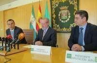 Las diputaciones de Sevilla, Huelva y Jaén piden al Gobierno un PER extraordinario y que puedan invertir sus superávit