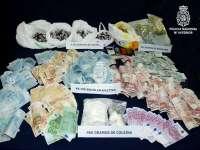 Desarticulado en Burgos un grupo dedicado al tráfico de drogas con la detención de 4 personas