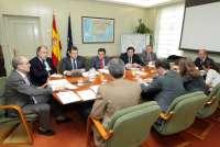 Dirigentes del PP se reúnen con el Gobierno para