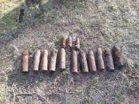 La Guardia Civil destruye quince artefactos explosivos hallados en un pinar de Santibañez (Valladolid)