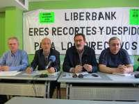 Sindicatos de Liberbank rechazan el cierre de 86 oficinas y piden a la entidad medidas que aseguren el futuro del banco