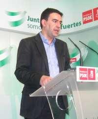 PSOE-A ve conveniente que Rajoy reciba a Griñán y atienda su propuesta de estrategia nacional contra la exclusión social