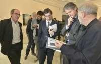La muestra 'Estaciones' abre el I Encuentro Cultural con Bilbao en el Palacete del Embarcadero