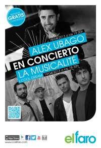 'El Faro' de Badajoz ofrece esta semana de manera gratuita los conciertos de Álex Ubago, La Musicalité y Cool Dream