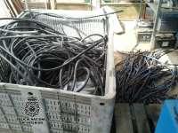 Detenidas en Hellín seis personas como presuntas autoras de robo de más de mil metros de cable de cobre