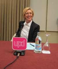 Rosa Díez participará este miércoles en una charla-debate en Toledo capital