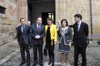 Barcina asiste en Nájera a la reunión anual del Patronato de Santa María la Real