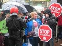 Stop Desahucios Bizkaia dice
