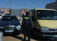 Guardia Civil detiene a cinco individuos por sustraer presuntamente herramientas de construcción