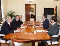 Gallardón garantiza al presidente de la FEMP que los nuevos tribunales de instancia no supondrán el cierre de juzgados
