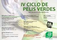 Ecologistas en Acción de Mérida inaugura este miércoles el IV Ciclo de Pelis Verdes