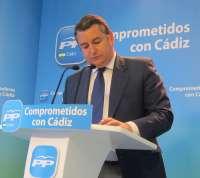 Sanz (PP) aplaude al Gobierno por la nueva Orden de Reindustrialización, que ve