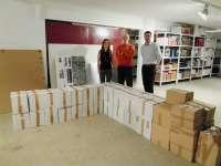 Un vecino de Alfafar (Valencia) dona un millar de libros a la Biblioteca Pública Municipal